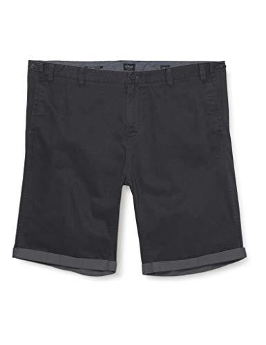 s.Oliver Big Size Herren 131.10.004.18.181.2043067 Shorts, 9642 Dark Metal, 40