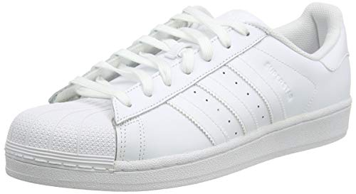 adidas Superstar Foundation, Herren Sneakers, Weiß (White B27136), EU 46 2/3