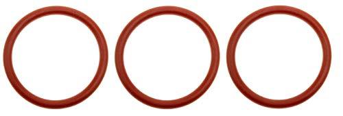 Juego de 3 juntas tóricas de 38 x 4 mm para cafeteras automáticas Saeco (38 x 4 mm)