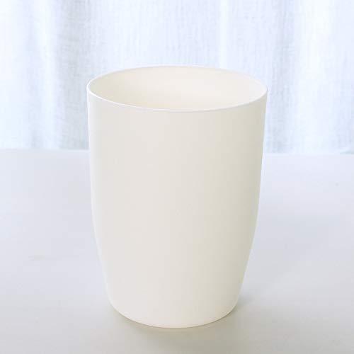 Einfache einfache Umweltschutz Kunststoff Waschbecher Runde Zahnbürste Wasserbecher Paar Mundwasserbecher