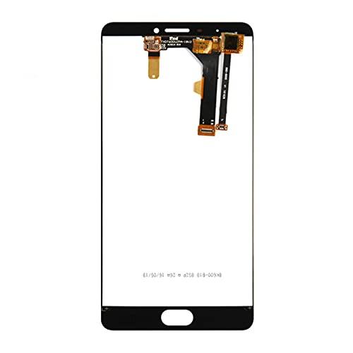 Pantalla LCD táctil Fit for MEIZU M3 MAX Pantalla LCD Montaje de digitalizador con Pantalla táctil Reemplazo de Herramientas gratuitas + B-7000(Color:Black No Frame)