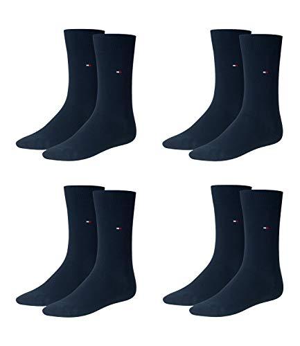 TOMMY HILFIGER Herren Classic Casual Business Socken 4er Pack dark navy / dark navy 322 - 43/46
