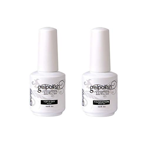 Elite99 Nagellack, semi-permanent, 4er-Set Nagellack UV- / LED-Gel, Maniküre-Set, semi-permanent, Soakoff Nagelkunst