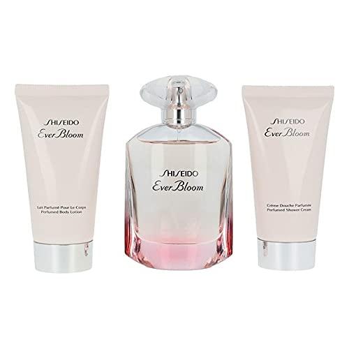 Set de Perfume Mujer Ever Bloom Shiseido (3 pcs) Perfume Original | Perfume de Mujer | Colonias y Fragancias de Mujer