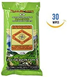 Trailblazer Biodegradable Bamboo Outdoor XL Wipes 30 Ct
