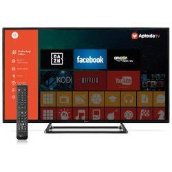 SMART TV 40 Pollici, Full HD, DVB-T2, Android TV, Wifi