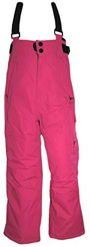 Outburst Skihose/Schneehose mit abnehm. Trägern Wasserdicht, Atmungsaktiv in Pink (164)
