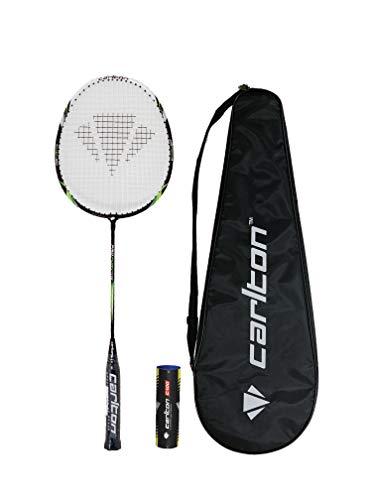 Carlton Série de Raquettes de Badminton Pro + Housse et 6 navettes (Pro Fury)