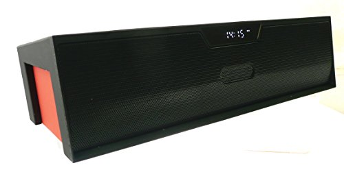 Emartbuy ® Schwarz / Rot SoundBox PortableWirelessBluetoothLautsprecherMitMikrofonGeeignet Für Cat Helix Tyro 8.9 Zoll Windows Tablet PC