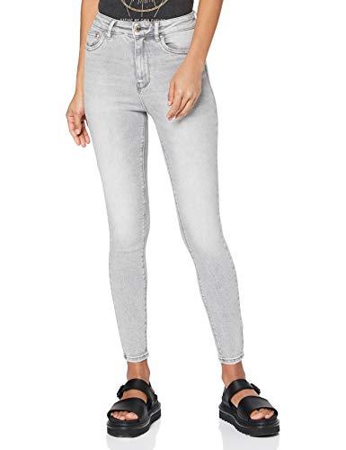ONLY Damen ONLMILA HW SK ANK BJ755 NOOS Jeans, Light Grey Denim, 29/32