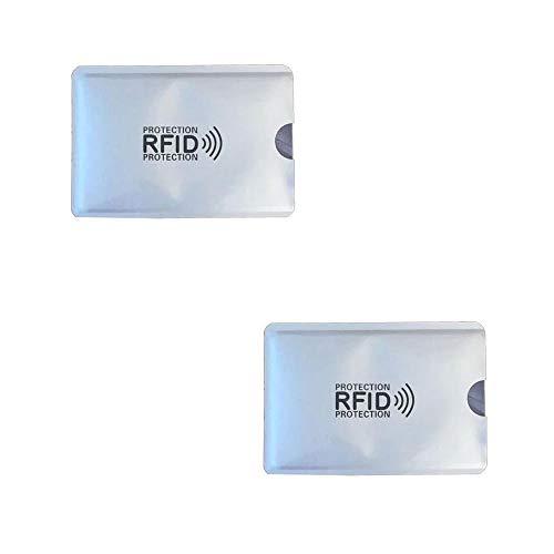 KRS 2xRFI Schutzhülle Schutz RFID NFC für Kreditkarten EC Karten RFID Blocker (2 Stück)