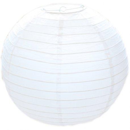 EUTOPICA Pack 10 Lanterne Di Carta Bianche (60 Cm)