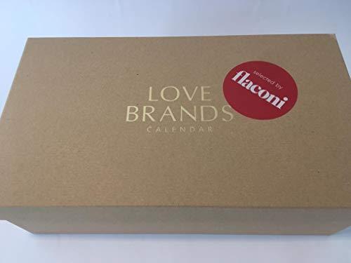 Flaconi Adventskalender 2019 Beauty für Frauen, idealer Advent Kalender als Geschenk für die Frau, Love Brands Beautykalender im Wert von 450 €, Damen Kosmetikkalender mit 24 Beauty Produkten
