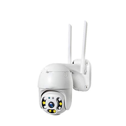 Camera met, WiFi 1080PIP66 waterdicht tweewegs stem full-colour nachtzicht detectie alarm, geschikt voor thuiskantoor winkelcentra en andere gelegenheden,1080P + 16G memory card