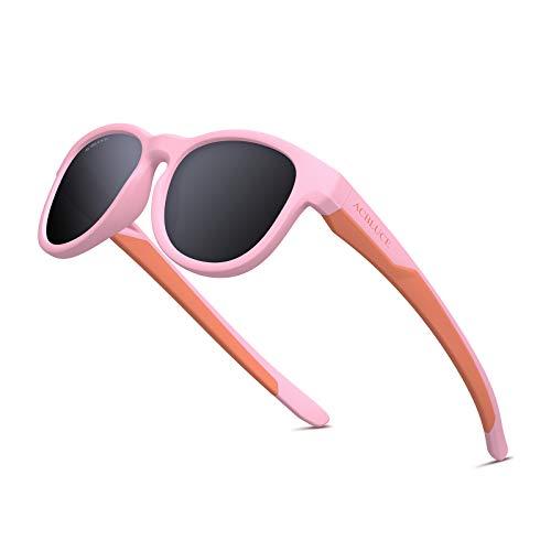 Girls Polarized Sunglasses Kids Sports Boys UV Protection Shades