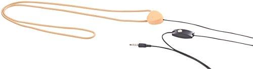Callstel Zubehör zu Induktions Kopfhörer: Induktionsschleife für Mini-Headset SHS-100, mit 3,5-mm-Klinkenstecker (Funkgerät-Kopfhörer)