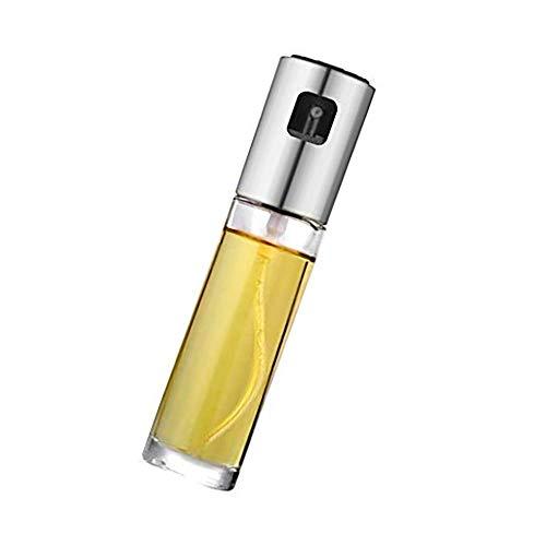 Sunnysam Flacone Spray da 1 pz Olio d'oliva per Uso Alimentare Bottiglia Spray per Olio di Vetro Spalmato Contenitore Vuoto da Cucina