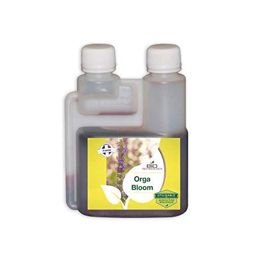 Bio Technology® | Organischer und natürlicher Dünger | Blühender Dünger | Organischer Blütendünger | Vollständig blühender Dünger | Umweltfreundlicher Superdünger | ORGA Bloom - 250 ML