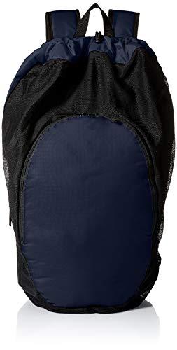 ASICS Unisex-Erwachsene Gear Bag 2.0 Tasche, marineblau/schwarz, Einheitsgröße