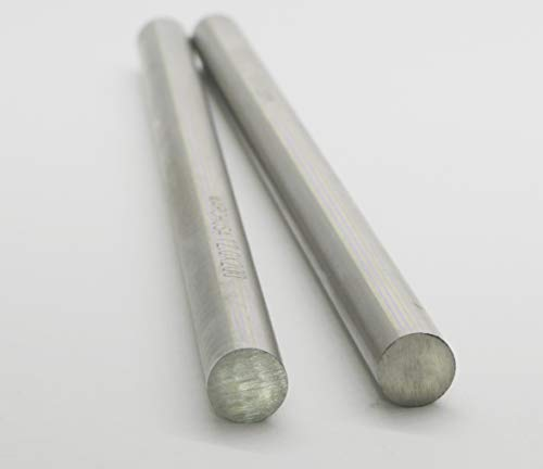 HSS Turning Tool Round Bar Dia 0.47'Long 7.87' (12x200mm) Lathe Turning Rod Micro Axle Cylindrical Pin Tool 2pcs