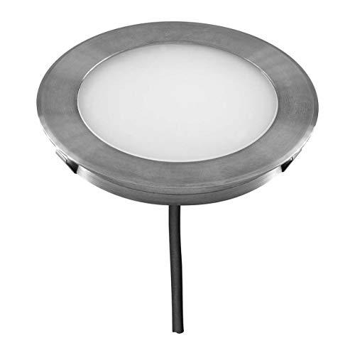 EVN Lichttechnik 4037293024358 IP67 L67101502 - Lámpara led empotrable para suelo (3000 K, 12 V)