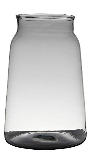 Vaas H35 D24 Handgemaakt Recycled Glas Marc