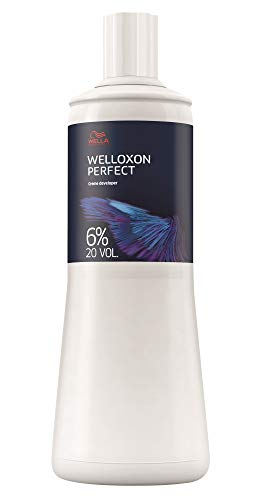 Wella Welloxon Perfect - Colore per capelli 6.0%, 1000 ml