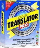 Power Translator Pro Version 6.4 (French, German, Italian, Spanish, Portuguese)