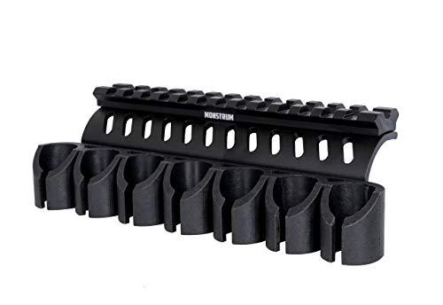Monstrum Side Saddle Shell Holder for Mossberg 500/590/Shockwave Series Shotguns | 12 Gauge