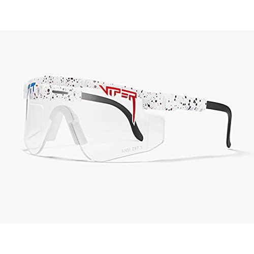 Gafas de sol C31 Ciclismo Z87 lente TR marco grande PC integrado a prueba de viento gafas para ciclismo, béisbol, pesca, esquí correr, golf