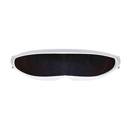 Widmann 11911 Robot Brille, Weiß, one Size