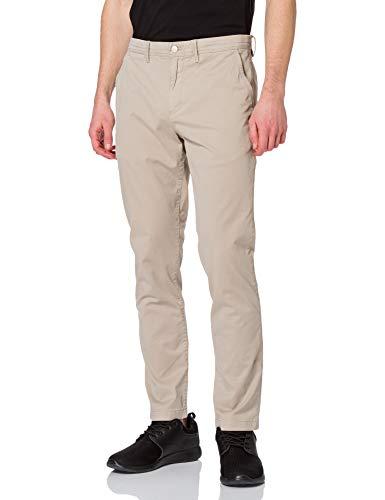 Calvin Klein Jeans Washed Slim Chino Pant Pantalones, Cuerda, 31W / 32L para Hombre