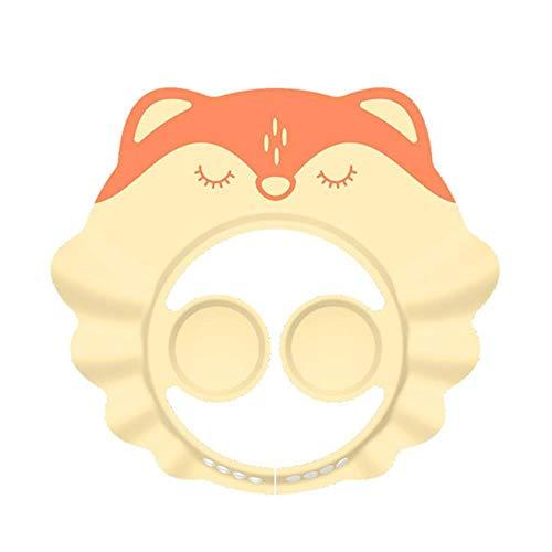 Bébé shampooing artefact douche de bébé enfants bain visière cap réglable bébé protection des oreilles bonnet de douche shampooing cap # 20,01