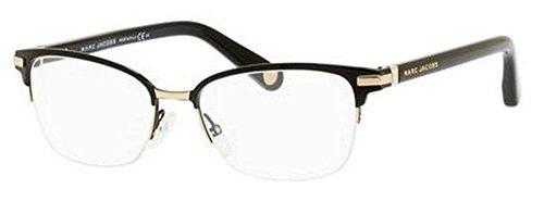 Marc Jacobs Women's 511 Taste Black / Gold Frame Metal Eyeglasses