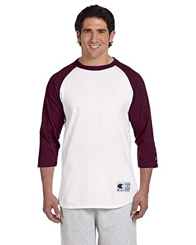 Champion- Camiseta de béisbol para hombre manga raglán. - Multi - XL