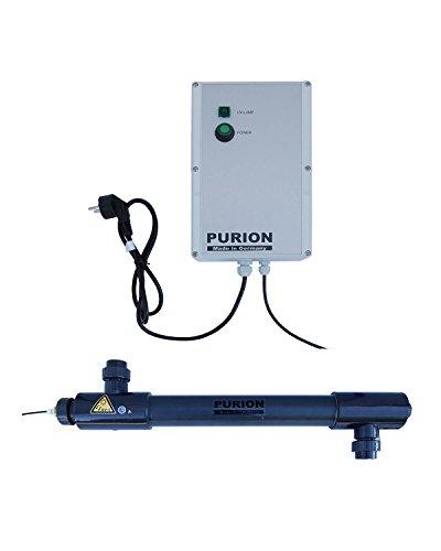 Purion 2501 Salzwasser UV UVC UV-C Klärer Reiniger Aufbereiter bis 60m³ (Purion 2501 PVC-U)