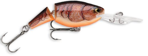 Rapala Jointed Shad Rap 07 Fishing lure, 2.75-Inch, Brown Crawdad (japan import)