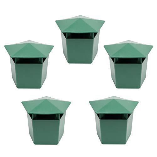 Beslands Schnecken-Falle 5er Set Schneckenfalle Starter-Set Falle Garten& Lockmittel sichere saubere und hocheffiziente Schneckenbekämpfung