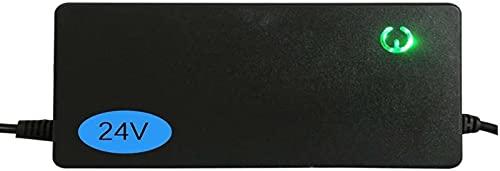 QDY Cargador de batería de 24 V 2 A / 3 A / 5 A para Bicicleta eléctrica Cargador de Scooter de Litio de 29,4 V, Cargador Universal para Scooter de Dos Ruedas,3a,F