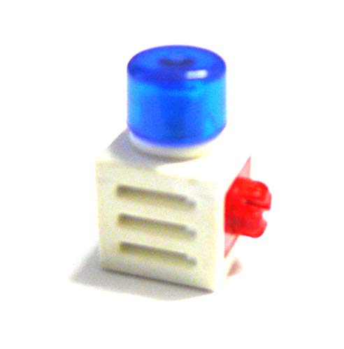 playmobil ® - X SYSTEM - X-SYSTEM - Lampe Blaulicht - Imitat - 15x15x15 mit einem roten Verbinder
