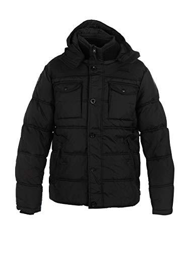 Lonsdale london darren veste d'hiver pour homme, Noir (Black), XXX-Large (Taille fabricant: XXL)
