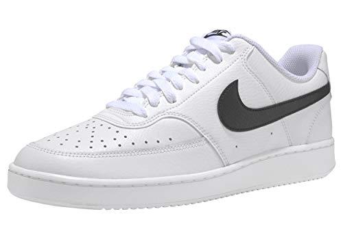 Nike Court Vision Low Zapatillas, color Blanco, talla 46 EU