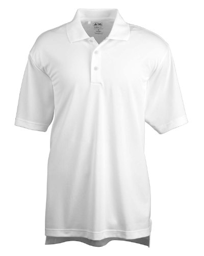 Adidas Golf Mens ClimaLite Basic Short-Sleeve Polo A130 -WHITE M