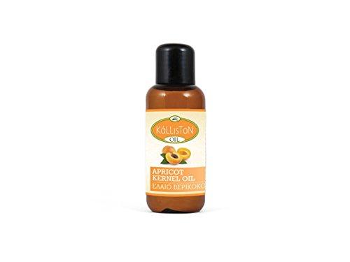 Natürliches Aprikosenkernöl 100ml Kalliston Kreta Griechenland Naturprodukt Aprikosen Aprikosenkern Pflege Öl Kosmetisches Bio Organic Hautöl Körperöl