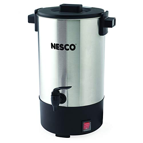 NESCO , Professional Coffee Urn, 25 Cups, Stainless Steel