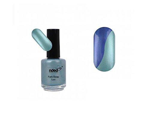 Vernis Swap Vert de lac à la mer bleue - Change de couleur - Nouveau - REF5598