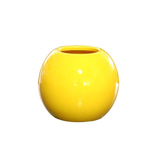 Jarrón de cerámica esférico Tridimensional Creativo