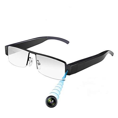 HD Cam Spionagekamera Brille 1080P - Mini DV Versteckte Videos Audiorecorder DVR Outdoor Sportkamera Mode Tragbare Sonnenbrille