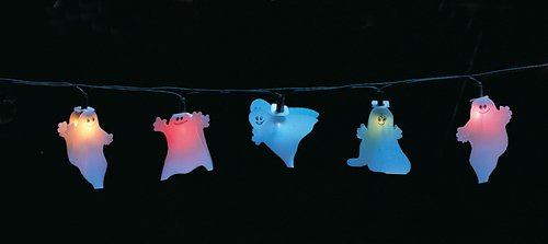 Quandt 91705295 Lichterkette Lichtgirlande Kinderzimmer Geister,