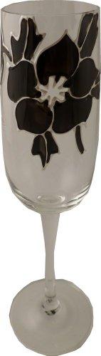 Rose Noir Flûte à Champagne